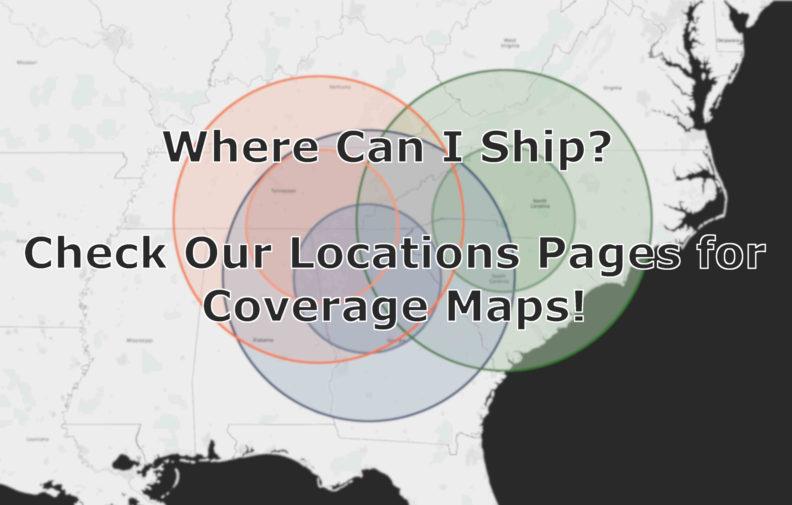 Where Can Pax Ship Map Gauss